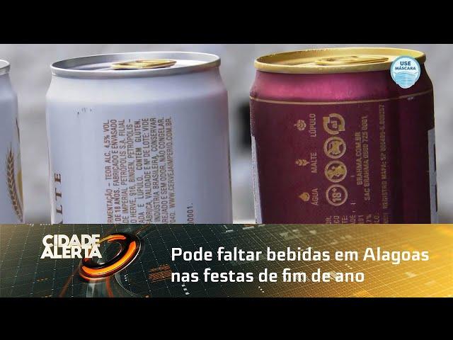 Pode faltar bebidas em Alagoas nas festas de fim de ano