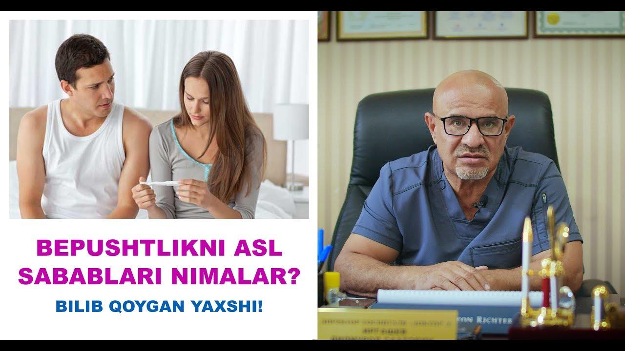 #142 BEPUSHTLIKNI ASL SABABLARI NIMALAR? BILIB QO'YGAN YAXSHI