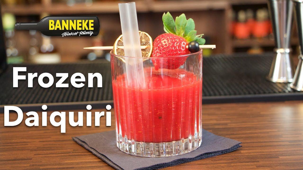 Sympathisch Strawberry Daiquiri Rezept Ideen Von Frozen - Rum Cocktail Selber Mixen -