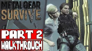 METAL GEAR SURVIVE Gameplay Walkthrough Part 2 - No Commentary