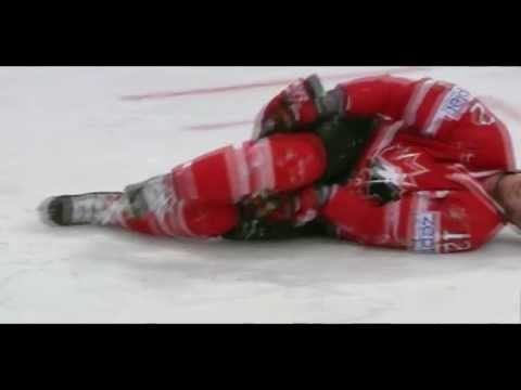 Alex Edler Game Misconduct (5+20) Kneeing on Eric Staal | Knee-on-knee Hit | Canada vs Sweden |HD