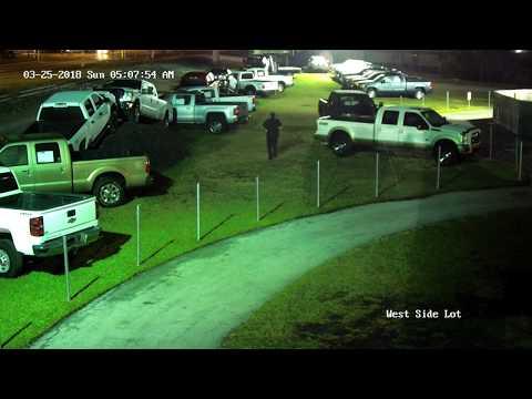 Attempted Truck Dealer Break-In 3/25/18
