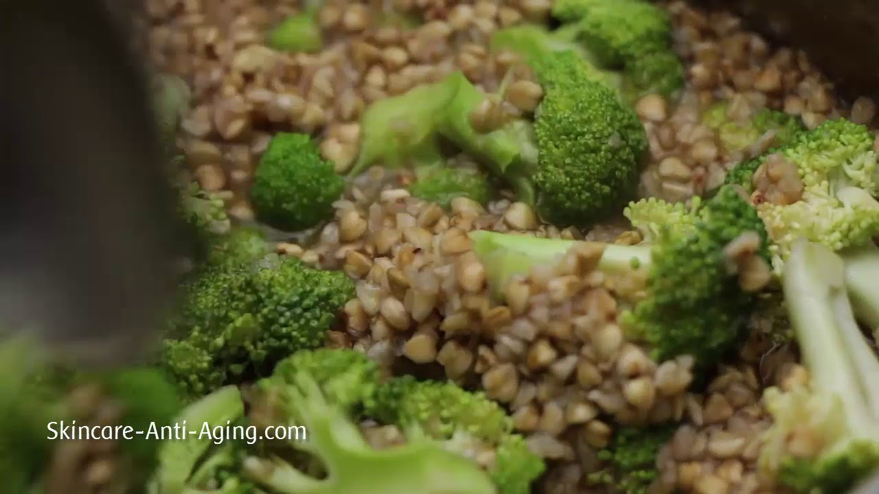 Broccoli Buckwheat With Cheese Recipe Youtube