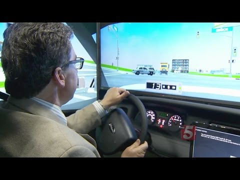 Police Train With New, State Of The Art Driving Simulator