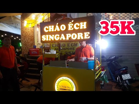 CHÁO ẾCH SINGAPORE NGON NỨC TIẾNG SÀI GÒN | saigon travel Guide