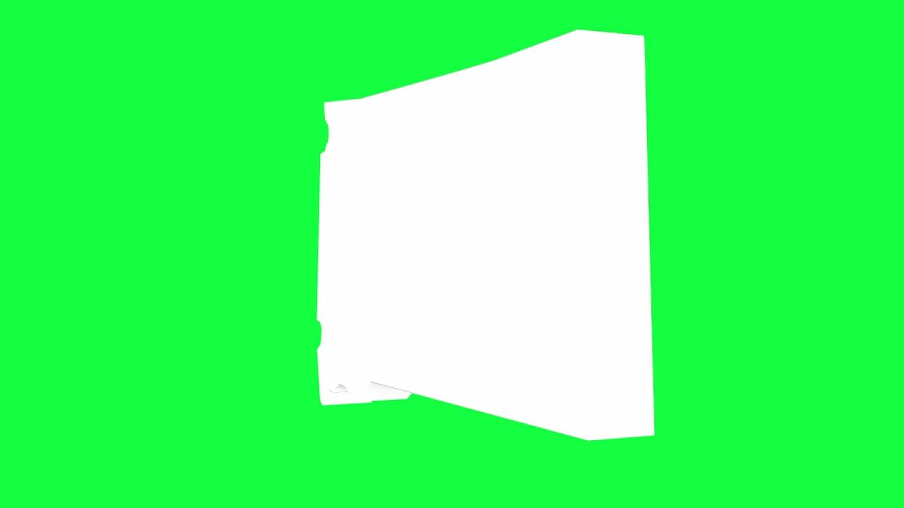 South Dakota USA Outline Green Screen Animation Loop