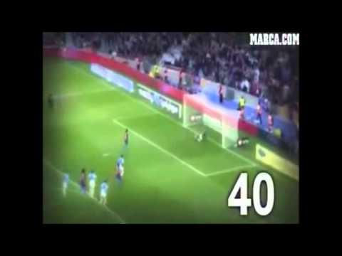 Todos los 86 goles de Messi en 2012 - Rompe record de Muller HD