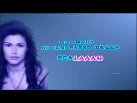 Giusy Ferreri  La scala (The Ladder) karaoke