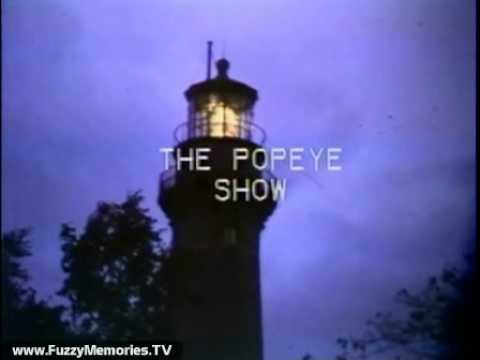 WSNS Channel 44  Popeye with Steve Hart Ending, 1975