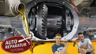 Differentialöl wechseln | Hinterachsdifferential Allrad BMW Mercedes | DIY Tutorial