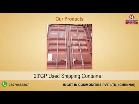 Transport Container By InGet-In Commodities Pvt. Ltd., Chennai