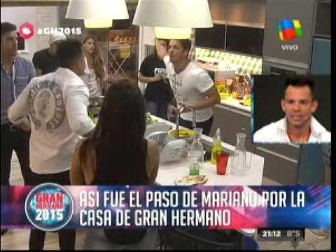 """""""Gran Hermano 2015"""" Así fueron los días de Mariano Berón en La Casa"""