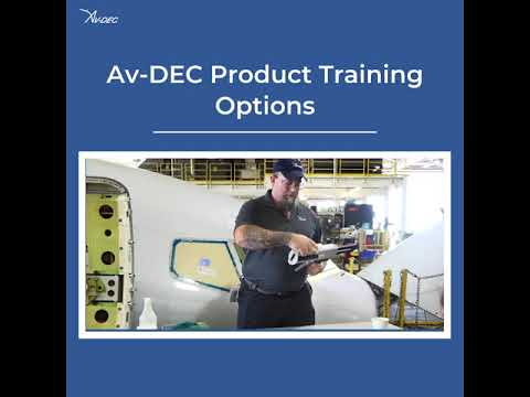 Av-DEC Product Training Options