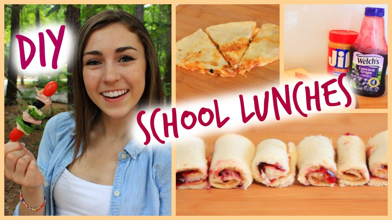 Diy school lunches easy cheap youtube for Easy diy lunches