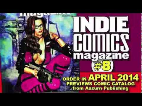 Indie Comics Magazine #8 video preview! - YouTube