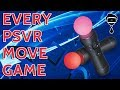 Every PSVR Move Game