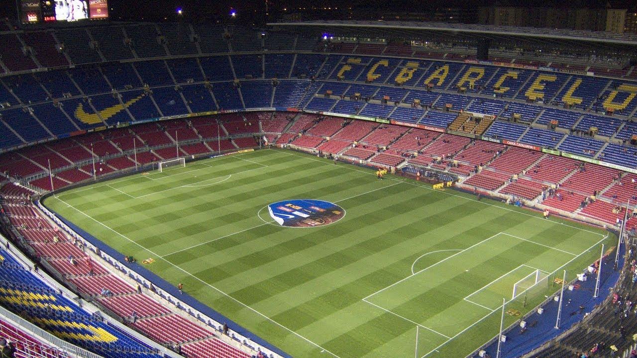 Fc Barcelona Football Stadium Tour Youtube