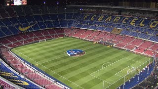 Fc barcelona football stadium tour