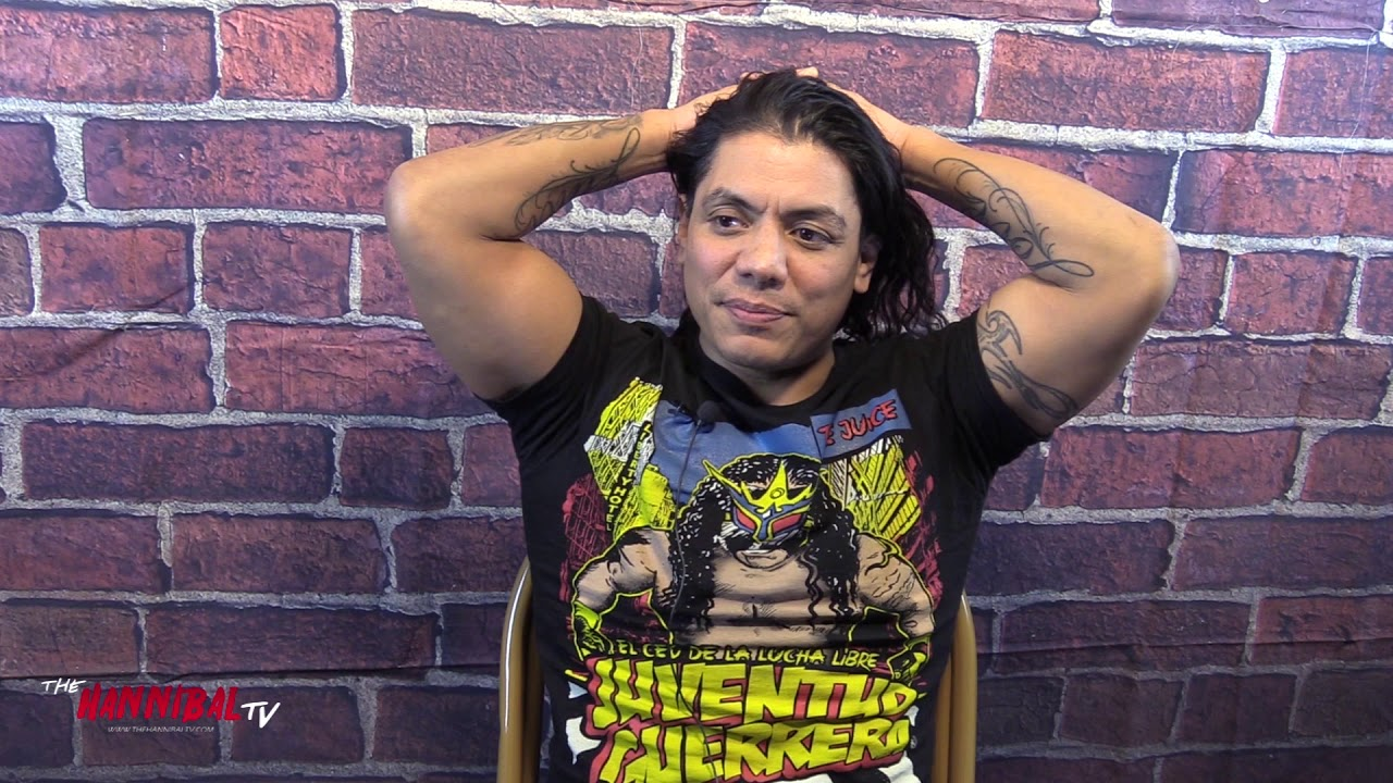 Juventud Guerrera Talks Losing His Mask, Wrestling With Chris Jericho