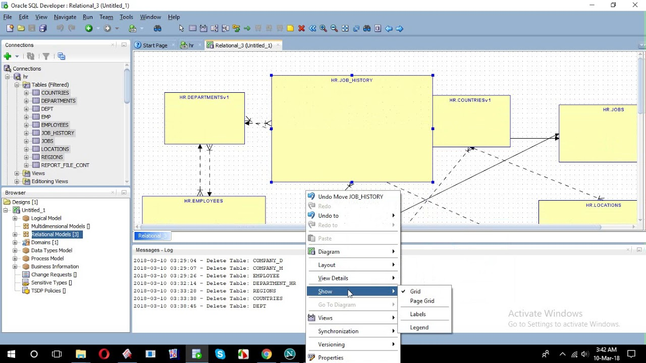 hight resolution of how to create erd from sql developer
