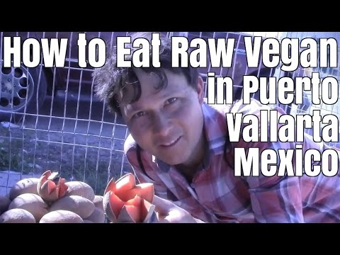 How to Eat Raw Vegan in Puerto Vallarta Mexico