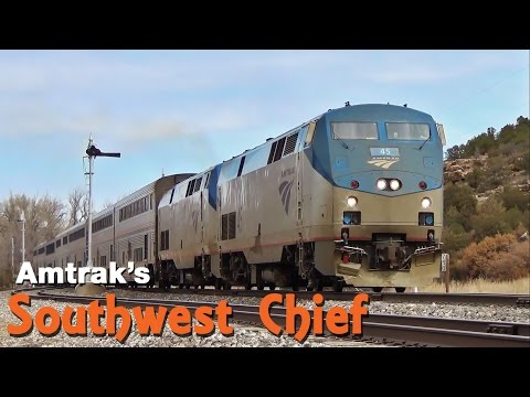 Thumbnail: Amtrak's Southwest Chief: Chicago to Los Angeles