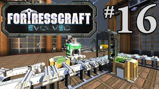 FortressCraft Evolved Gameplay #16 - Minecarts!