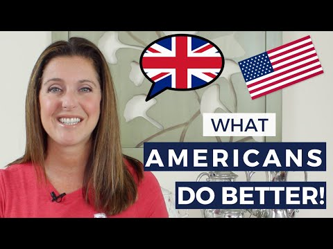UK vs USA - What Americans Do Better Than The British!
