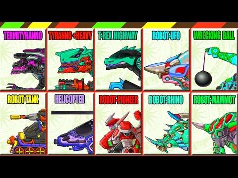 Game Lắp ráp robot Khủng long chiến đấu Đặc Biệt 9 | Dino Robot Dino Corps Remix 9