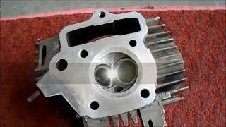 How to assemble bike engine head | cylinder head