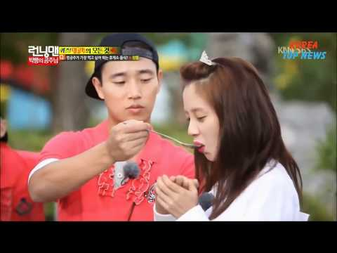 Kang Gary wrote this song for Song Ji Hyo -  Monday Couple memories