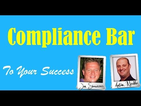 Compliance Bar - 23 Compliance Pages template   Compliance Bar Review