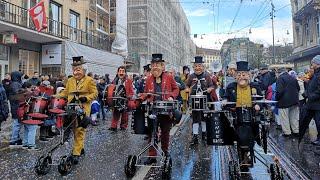 #Fasnacht 2019 Spring Carnival. Basel Switzerland.