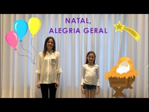 Natal Alegria Geral Musica Com Gestos E Letra Youtube