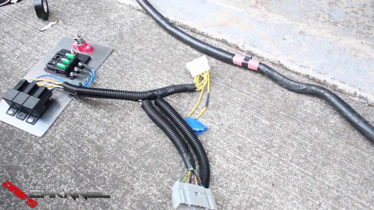 Mr2 Wiring Harness Installed