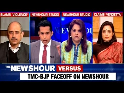 TMC Vs BJP - Mamata Banerjee Destroying Peace In West Bengal: The Newshour Debate (5th Jan)