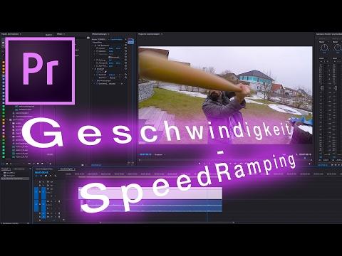Verrückte Geschwindigkeit! Speed Ramping (Premiere Pro CC, Tutorial, Deutsch, keine Plugins)