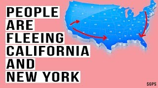 Americans Are Fleeing California and New York! I'll Show You Where They're Going.