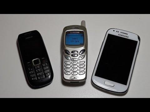 Смотри что я купил сегодня ! Nokia 1616. Samsung R210S. Samsung S3 mini i8190