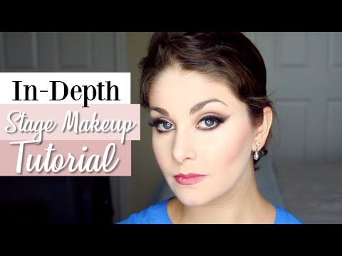 In-Depth Stage Makeup Tutorial | Kathryn Morgan