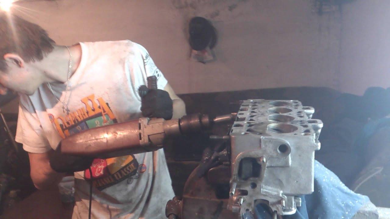Изготовление шаровой фрезы для расточки каналов ГБЦ, впускного .