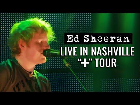 Ed Sheeran in America:
