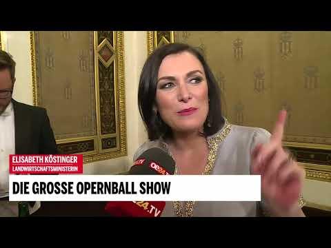 Opernball: Interview mit Elisabeth Köstinger