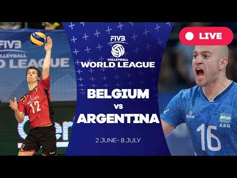 Belgium v Argentina - Group 1: 2017 FIVB Volleyball World League