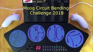 Moog Circuit Bending Challenge 2018 - The Winning Entry - the boomCHUCK