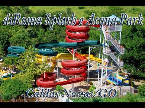 Toboáguas diRoma Acqua Park e diRoma Splash - Caldas Novas/GO