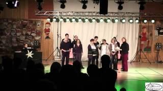 """Weihnachtssingen am Wolkenberg 2012 - Lehrerchor schwed. Weihnachtslied """"Nur är det jul igen"""""""