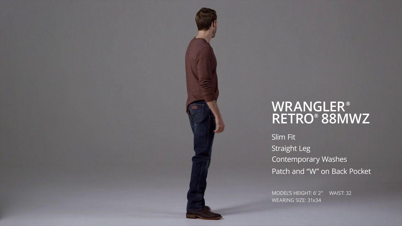 Slim Fit Straight Leg Jean Mens Jeans
