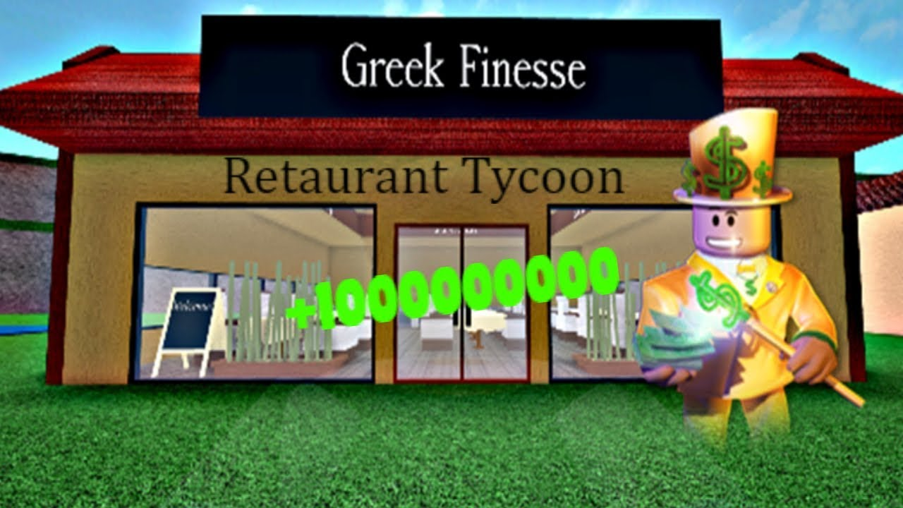 Roblox Restaurant Tycoon Money Glitch Patched Youtube