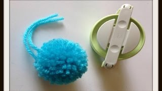 Clover Pom Pom Maker Tutorial